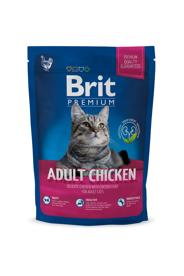Brit Premium By Nature Chicken Kurczak Adult 800 g