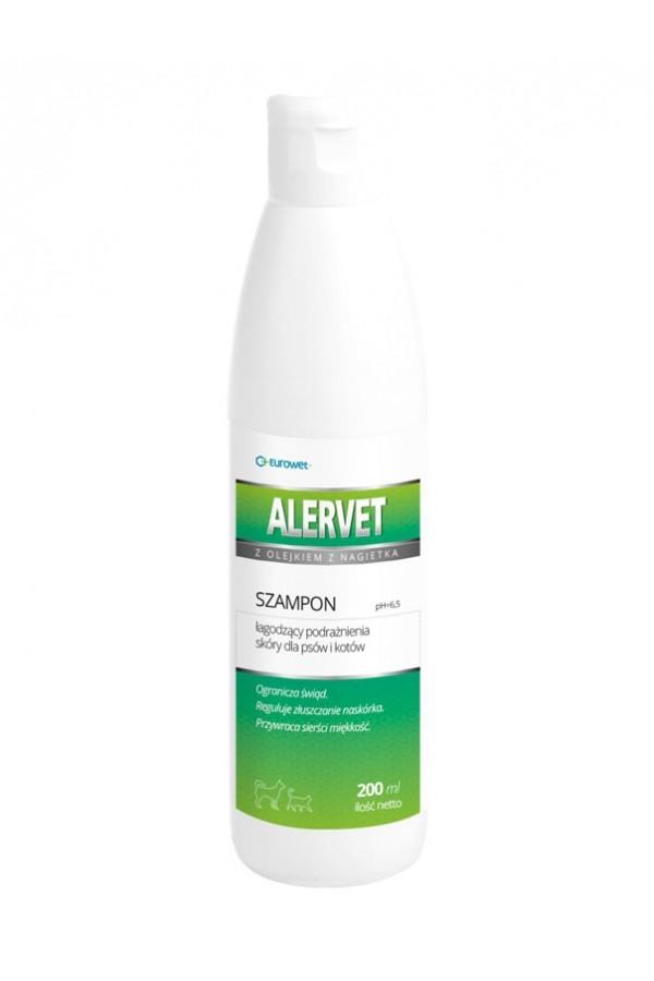 Alervet łagodzący szampon dermatologiczny 200 ml