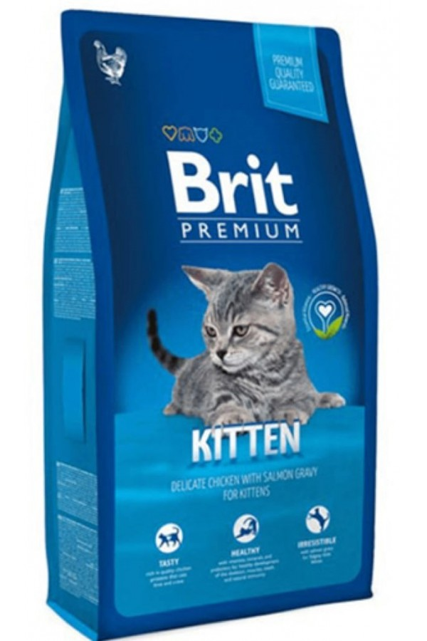 Brit Premium Kitten Kocięta Kurczak 800 g
