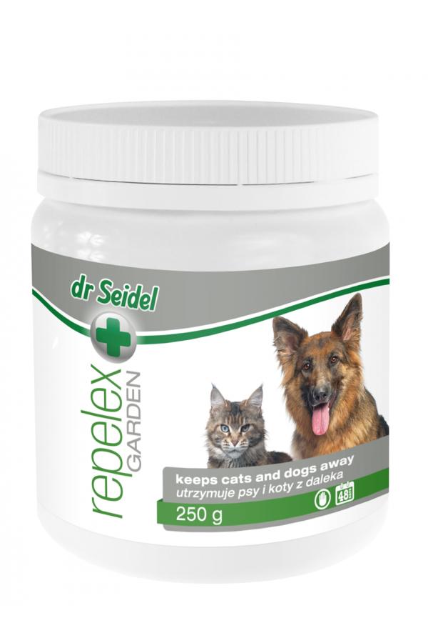 Dr Seidel Repelex Ogród Odstraszający Psy i Koty 250 g