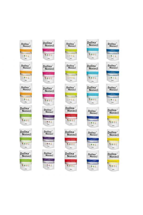 Pakiet Dolina Noteci Premium Mix 10 Smaków 30 x 500 g