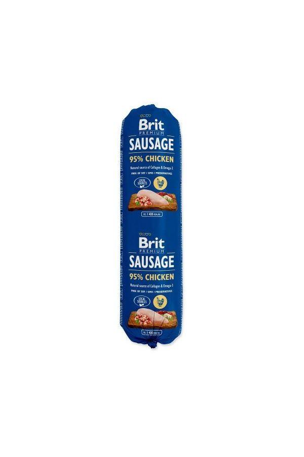 Brit premium by nature sausage chicken 800 g