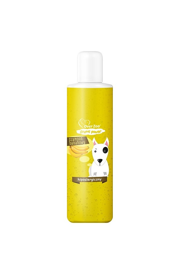 Over zoo frutii power szampon hipoalergiczny o zapachu bananowym dla psa 200 ml