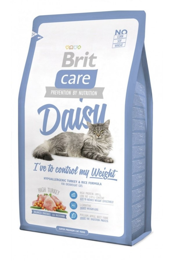 Brit Care Daisy Ive To Control My Weight Indyk Ryż 7 kg