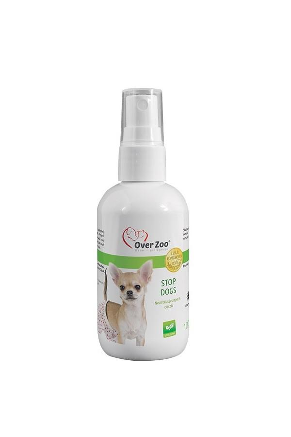 Over Zoo Stop Dogs Likwidujący Zapach Cieczki 100 ml
