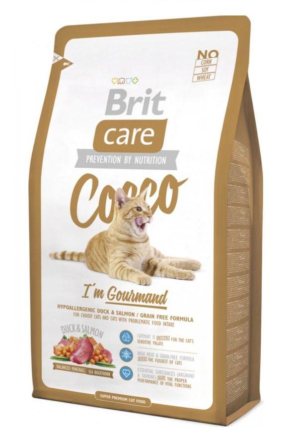 Brit Care Cocco Im Gourmand Bezzbożowa Kaczka Łosoś 7 kg