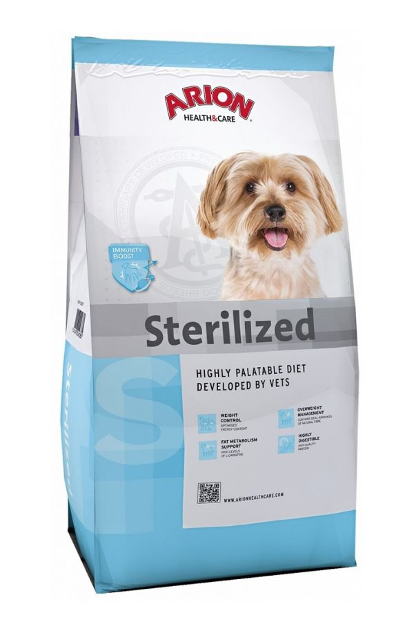 Arion h&c sterilized small breed 3 kg