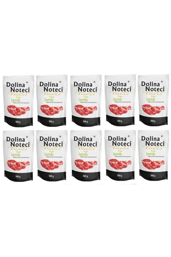 Pakiet Dolina Noteci Premium Pure z Jagnięciną 10 x 500 g