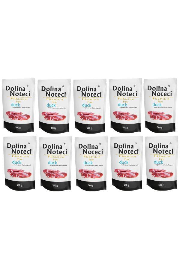 Pakiet Dolina Noteci Premium Pure z Kaczką 10 x 500 g