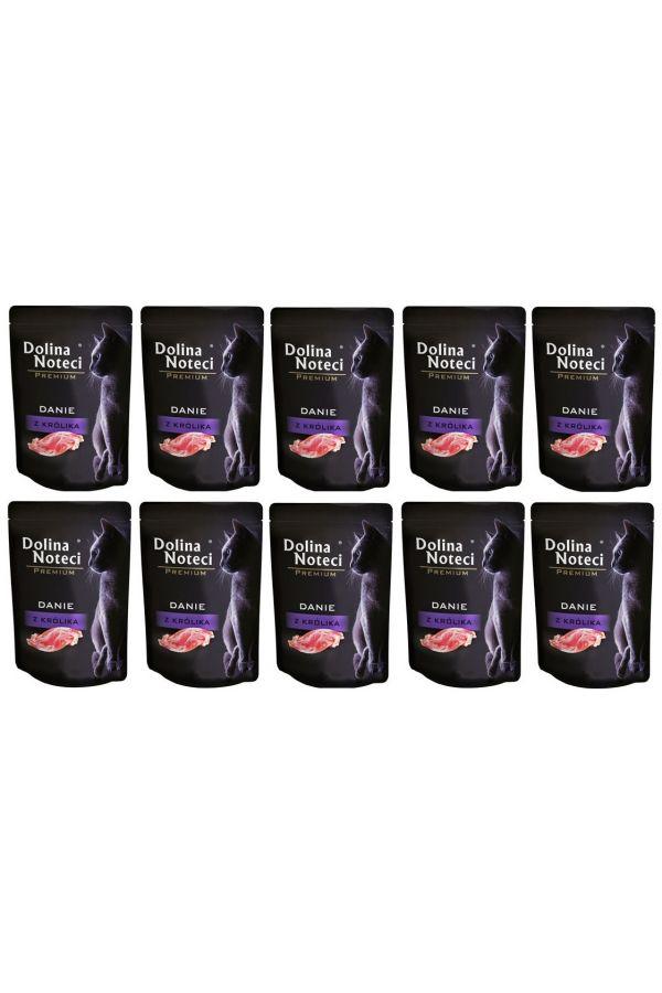 Pakiet Dolina Noteci Premium Danie z Królika 10 x 85 g