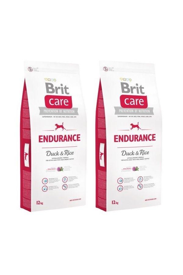 Pakiet Brit Care Endurance Wytrzymałość Duck & Rice Kaczka 2 x 12 kg