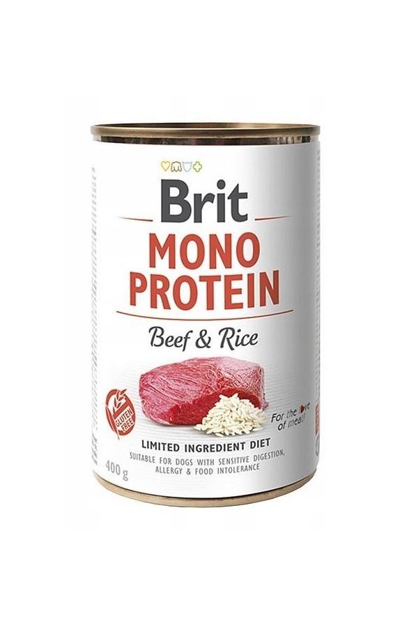 Brit Mono Protein Beef & Rice Wołowina Ryż 400 g
