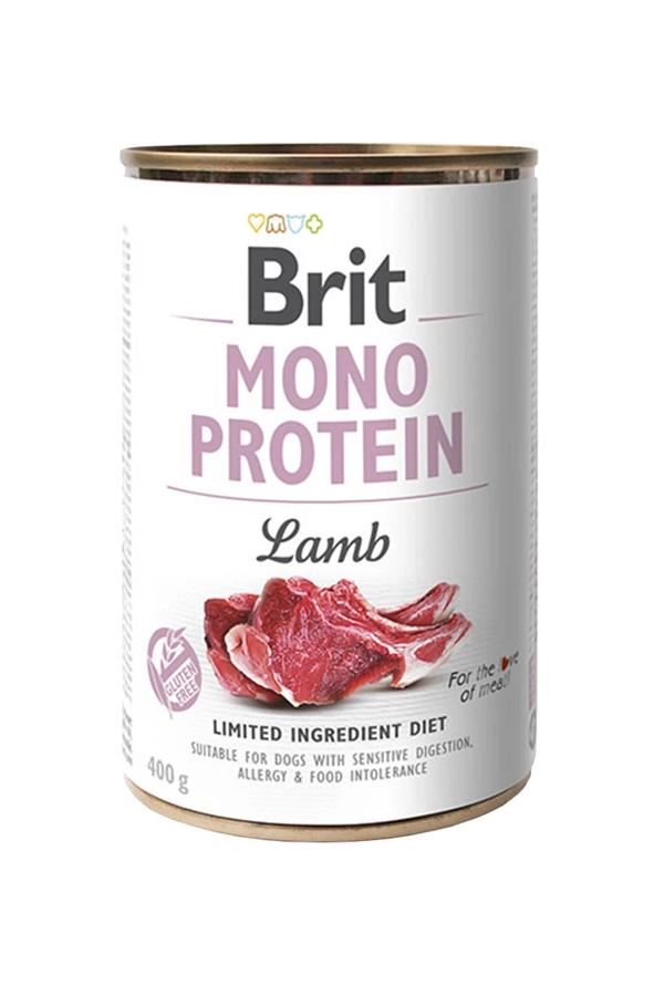 Brit Mono Protein Lamb Jagnięcina 400 g
