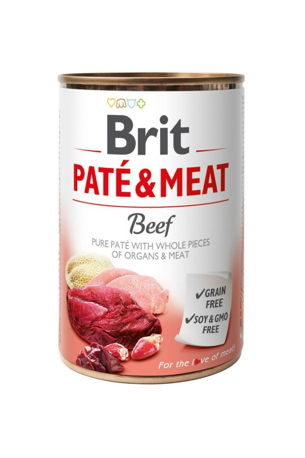 Brit Pate & Meat Beef Wołowina 400 g