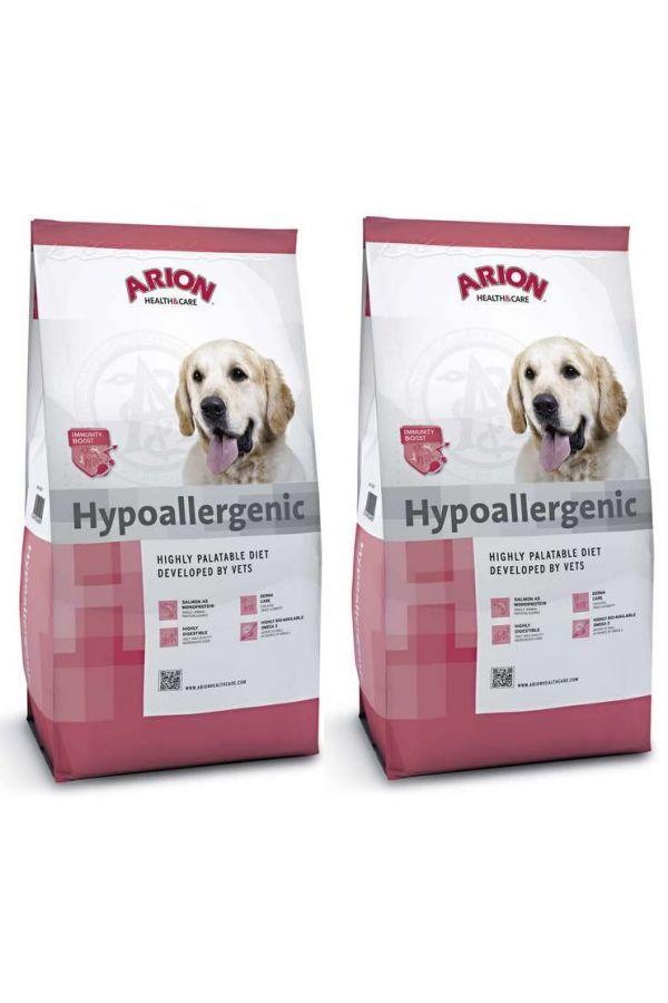 Pakiet Arion Health & Care  Hypoallergenic 2 x 12 kg