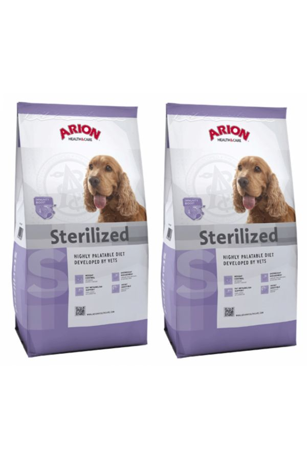 Pakiet Arion Health & Care Sterilised 2 x 12 kg