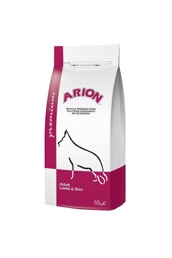Arion Premium Lamb & Rice Adult 10 kg