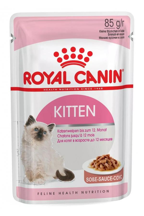 Royal Canin Kitten w Sosie 85 g