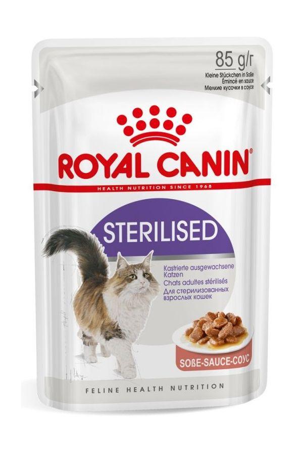 Royal Canin Sterilised Gravy w Sosie dla Kota 85 g