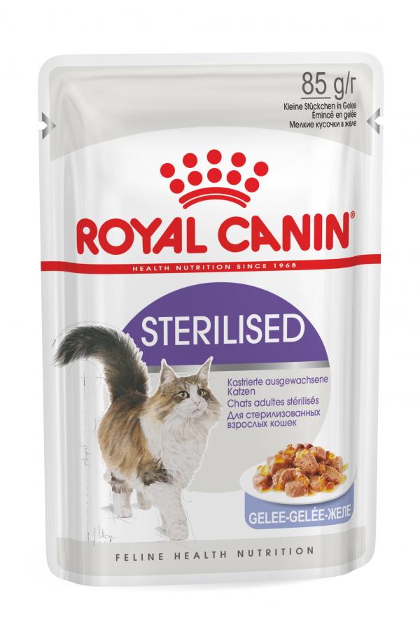 Royal Canin Sterilised w Galaretce dla Kota 85 g