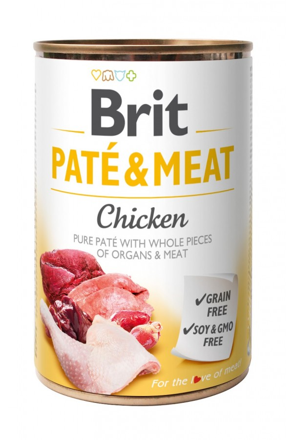 Brit Pate & Meat Chicken Kurczak 400 g