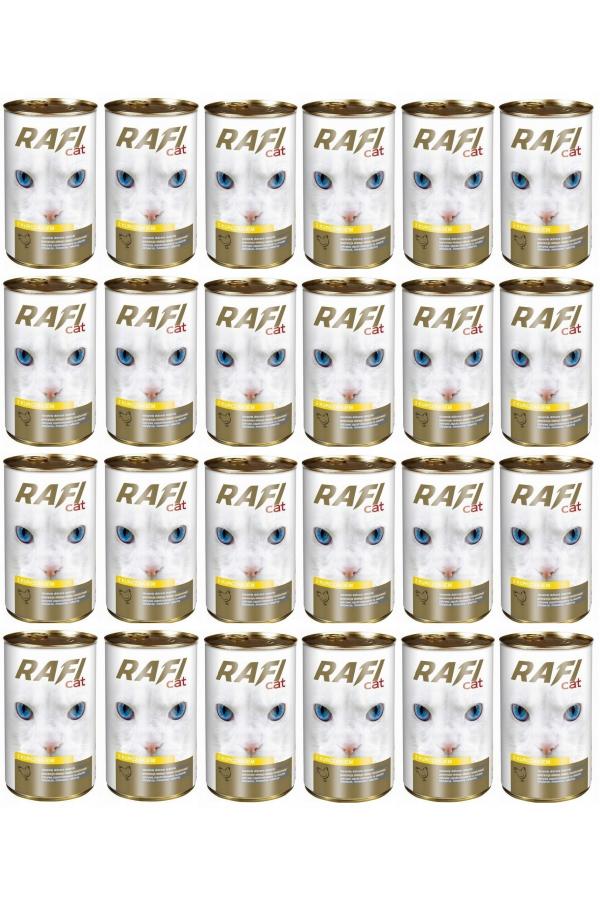 Pakiet Dolina Noteci Rafi Cat z Drobiem 24 x 415 g