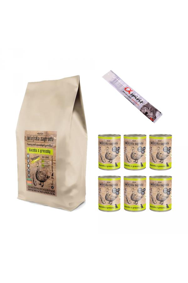 Pakiet Wiejska Zagroda Kaczka z Gruszką 20 kg + 7 GRATISÓW!