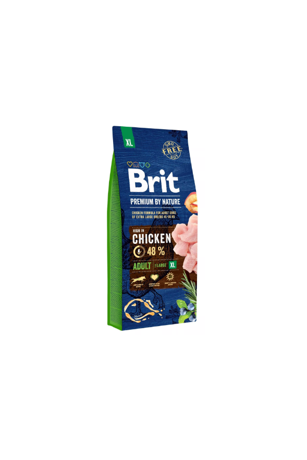 Brit Premium By Nature Chicken Kurczak Adult XL 15 kg