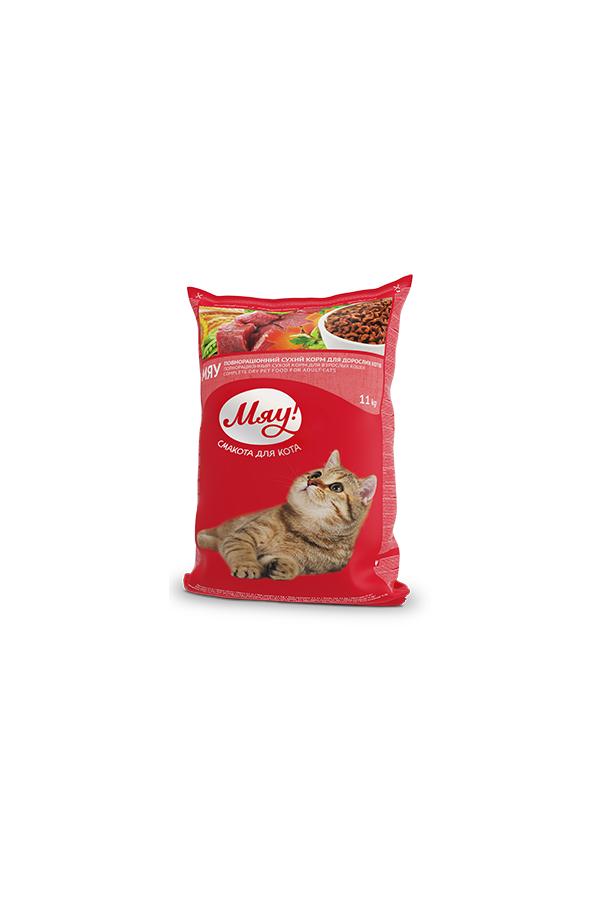 Miau! Mięso z Ryżem i Warzywami dla Kota 11 kg