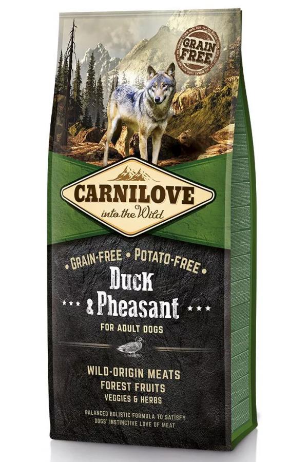 Brit Carnilove Duck & Pheasant Kaczka Bażant Bezzbożowa Adult Dogs 12 kg