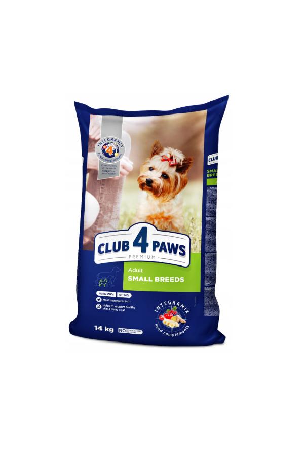 Club 4 Paws dla Dorosłych Psów Małych Ras 14 kg