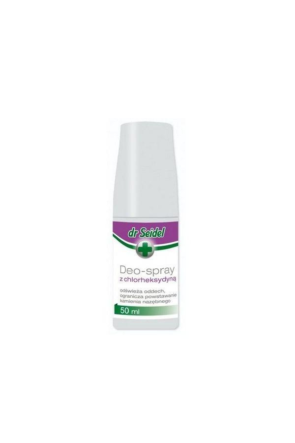 Dr Seidel Deo - Spray z Chlorheksydyną do Pielęgnacji Zębów 50 ml