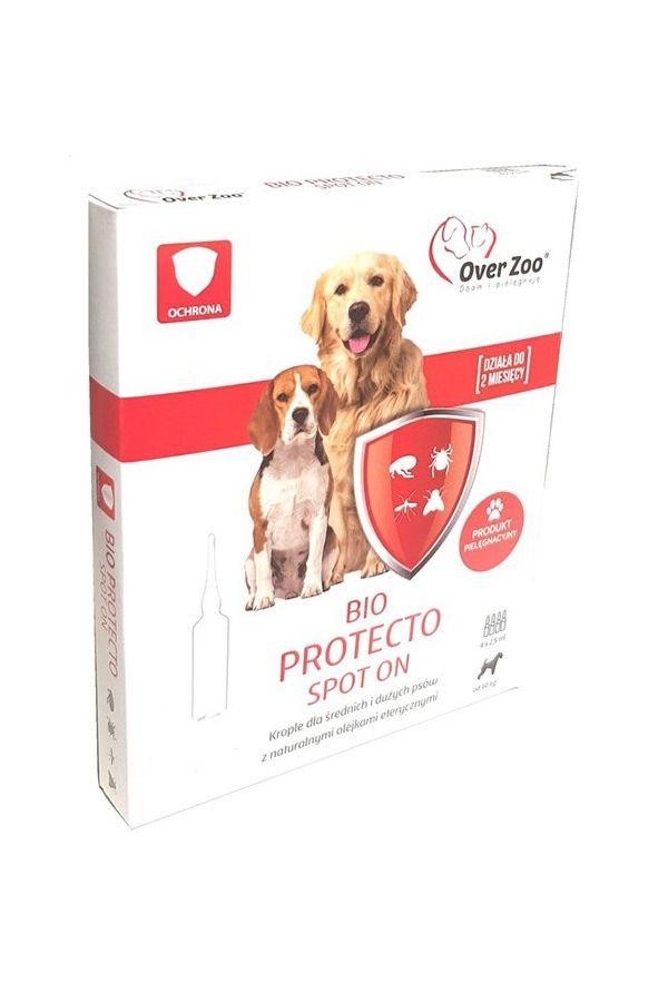 Bio protecto spot on dla średniego/dużego psa 4 x 2,5ml
