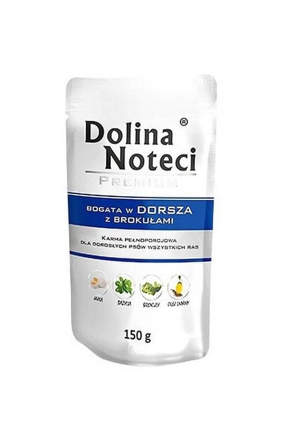 Dolina Noteci Premium Dorsz z Brokułami 150 g