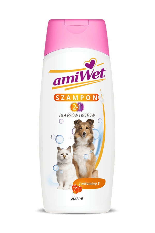 Amiwet szampon 2w1 200ml