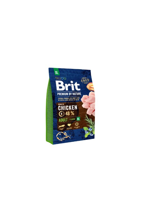 Brit Premium By Nature Chicken Kurczak Adult XL 3 kg