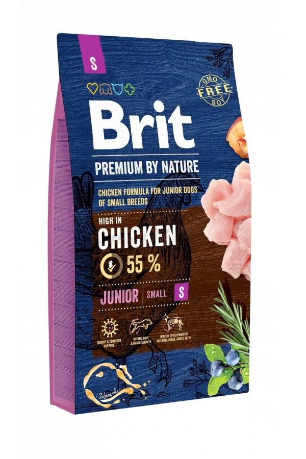 BritPremium By Nature Chicken Kurczak Junior S 8 kg