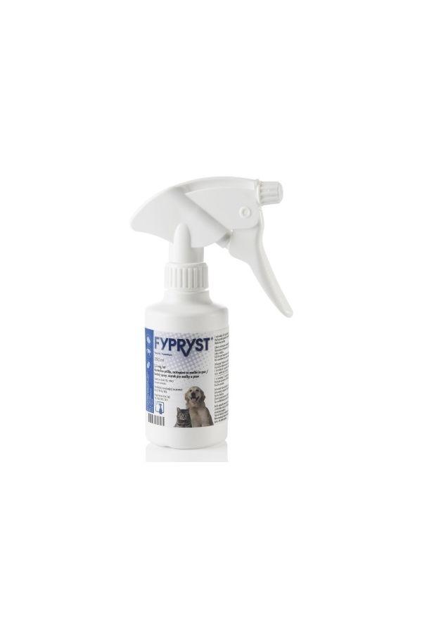 Fypryst Spray na Skórę dla Psów i Kotów Przeciw Pchłom i Kleszczom 250 ml