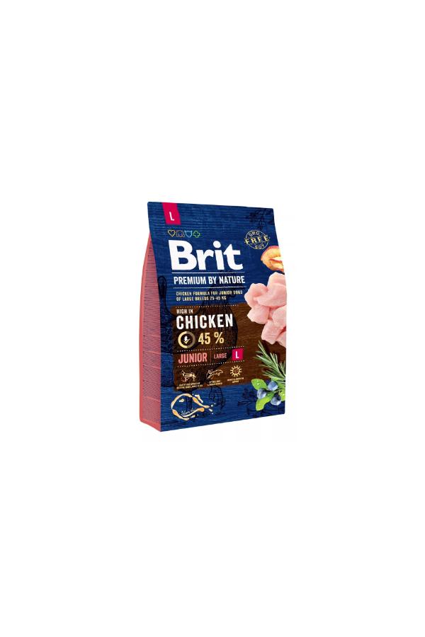 Brit Premium By Nature Chicken Kurczak Junior L 3 kg