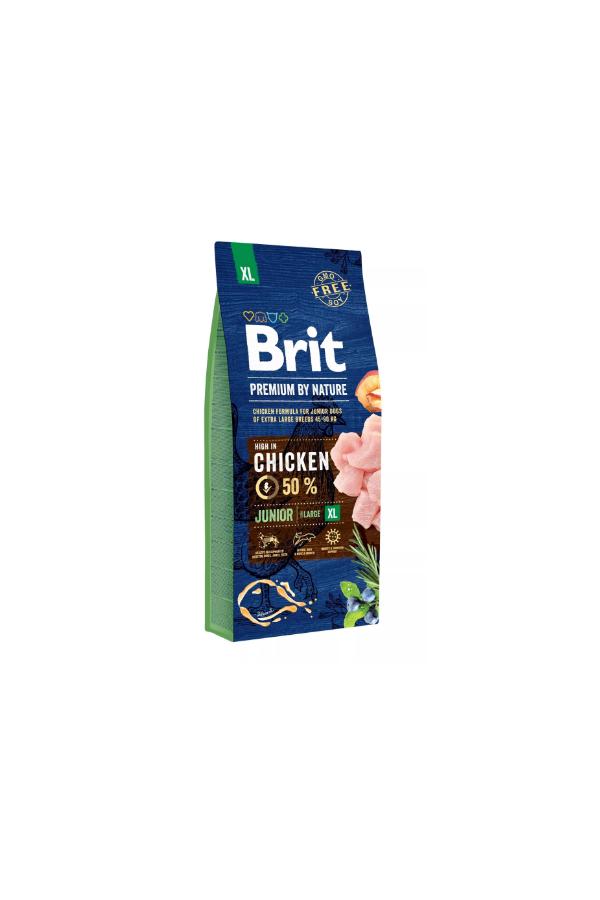 Brit Premium By Nature Chicken Kurczak Junior XL 15 kg