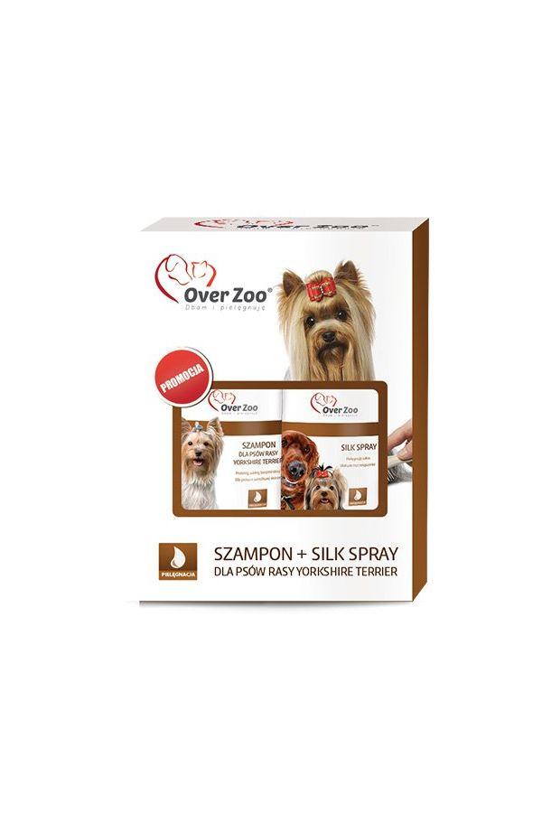 Over Zoo Szampon dla Psów Rasy Yorkshire Terrier 250 ml + Over Zoo Silk Spray 250 ml