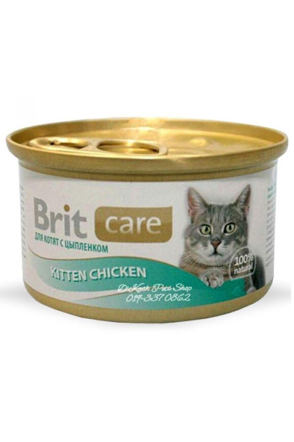 Brit Care Chicken Kurczak Kitten 80 g
