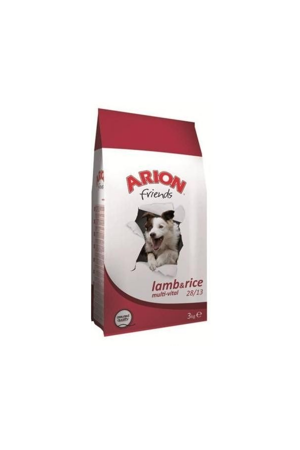 Arion Friends Lamb & Rice Jagnięcina Ryż Multi-Vital 28/13 3 kg