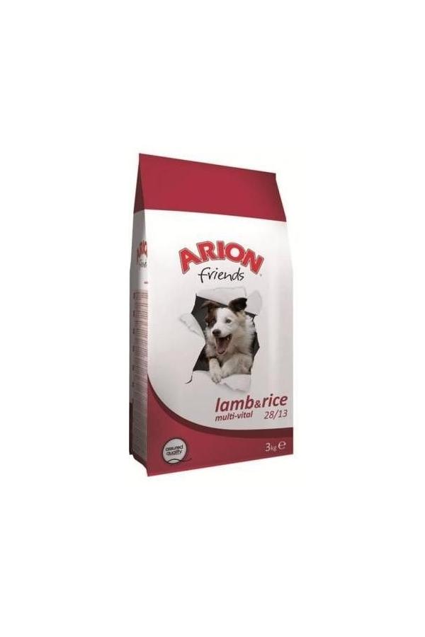 Arion Friends Lamb & Rice Jagnięcina Ryż Multi-Vital 28/13 3 kg