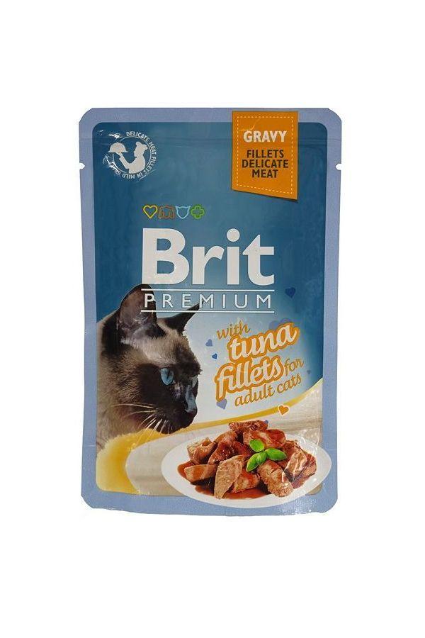 Brit Premium Tuna Fillets Tuńczyk 85 g