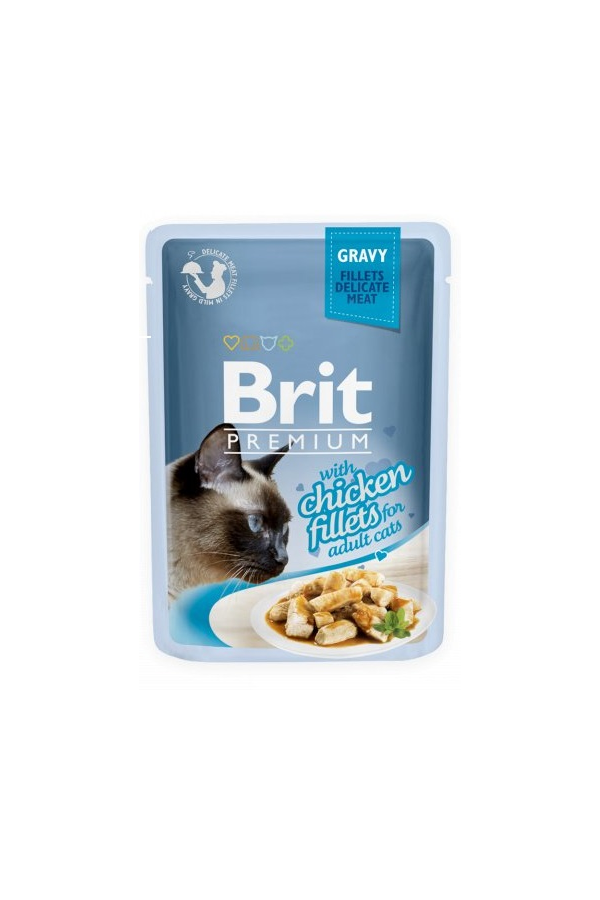 Brit premium chicken fillets 85 g