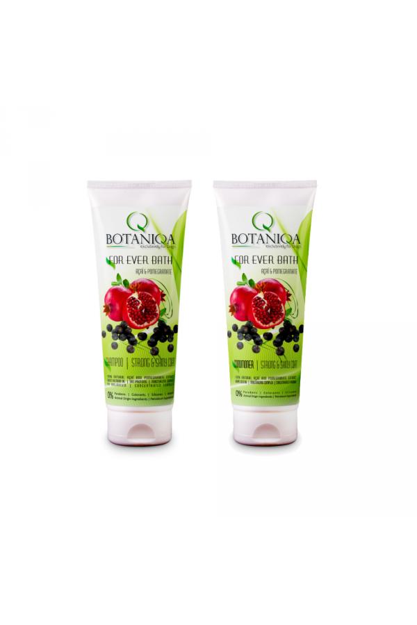 Pakiet Botaniqa For Ever Bath Szampon 250 ml + Odżywka 250 ml