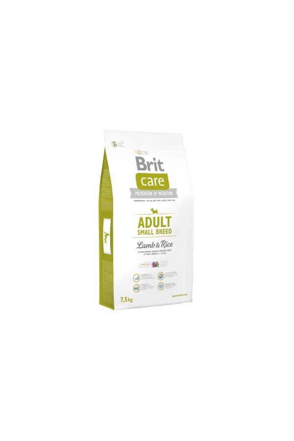 Brit Care Lamb & Rice Jagnięcina Adult Small Breed 7,5 kg