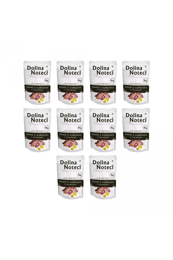 Pakiet Dolina Noteci Premium Danie z Kurczaka z Makaronem 10 x 300 g