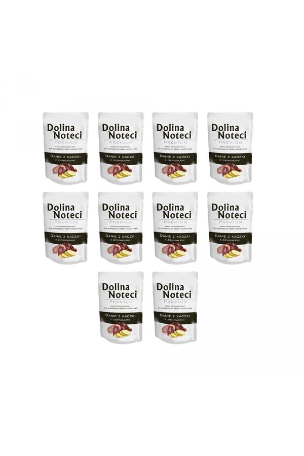 Pakiet Dolina Noteci Premium Danie Kaczka z Ziemniakami 10 x 300 g